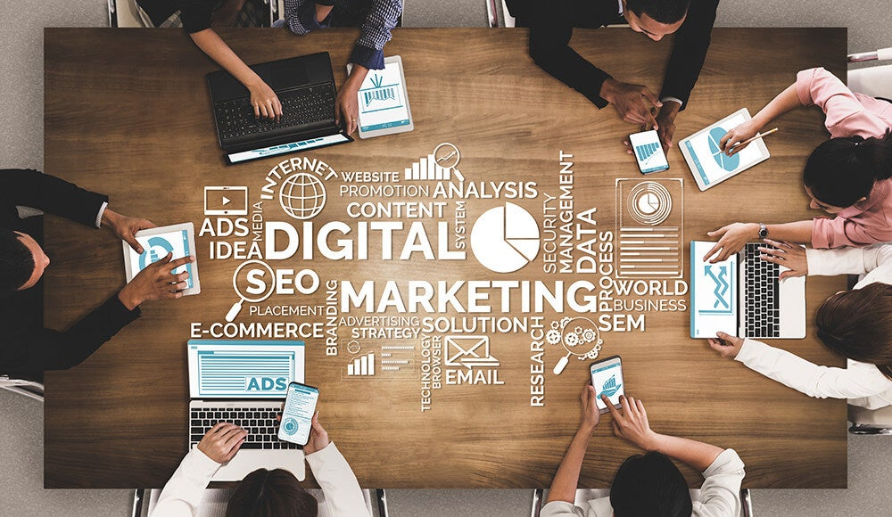 What Do Marketing Professionals Do with an Online Master's in Digital Marketing and Data Analytics?